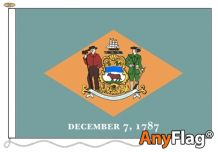 - DELAWARE ANYFLAG RANGE - VARIOUS SIZES